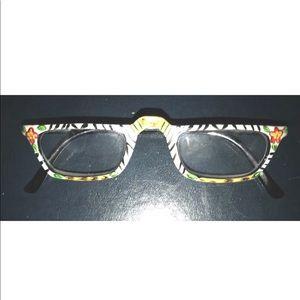 New Whimsical Readers Glasses Black White Green 3